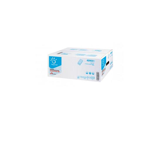 Werra Handtuchpapier 24x21cm, 2-lagig, V-Falz, SPECIAL, Zellstoff hochweiss, 3750 Blatt