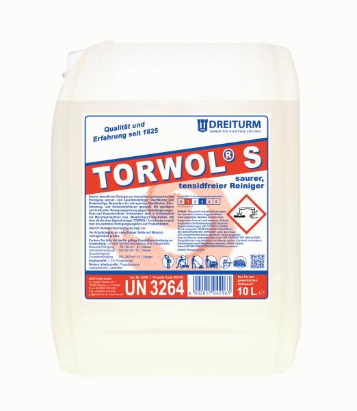 Dreiturm saurer, tensidfreier Reiniger Torwol S 10L - 4296