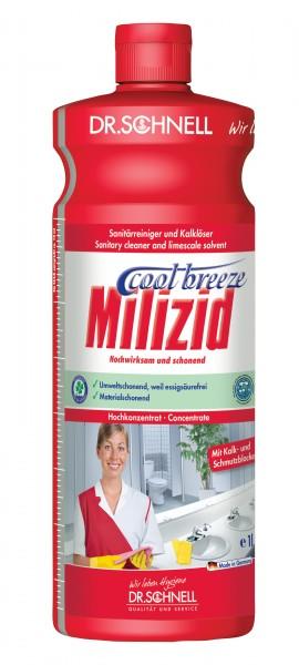 Dr.Schnell Milizid Cool Breeze Sanitärreiniger und Kalklöser 1 L - 00394