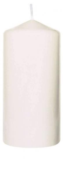 Duni Stumpenkerzen 130x60mm, weiss  - 2x6 Stück