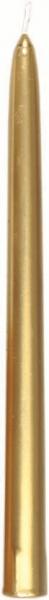 Duni Spitzkerzen 260x22mm Gold - 10x10 Stück