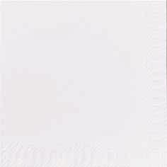 Duni Zelltuch Servietten 24x24 2lg 1/4 F weiß  - 8x300 Stück