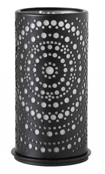 Duni Kerzenhalter Billy, 140x75mm, schwarz - 4x1 Stück