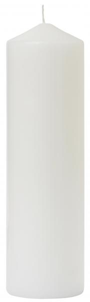Duni Stumpenkerzen 270x80mm weiß - 10x1 Stück