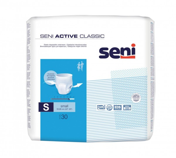 Seni Active Classic Small  (1 Packung = 30 Stück)