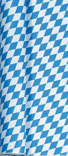 Duni Papier Tischdecke Rolle 50x1,0m Bay Raute - 4x1 Stück