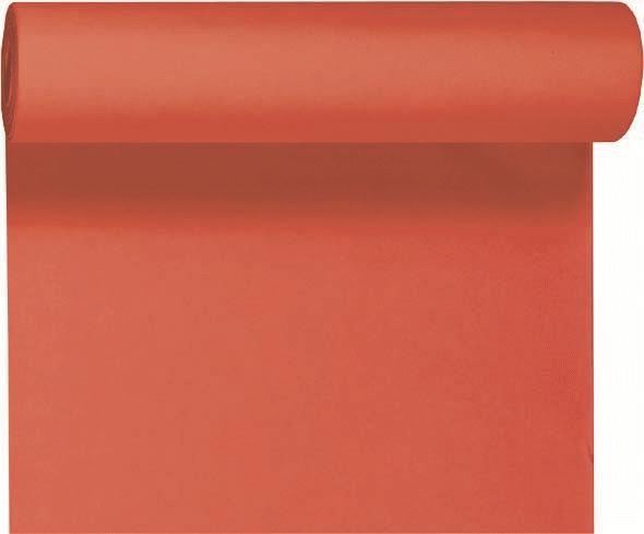 Duni DC Tête à Tête Tischläufer 0,4x24m mandarin - 6x1 Stück