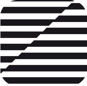 Duni Untersetzer eckig, 8,5x8,5cm 8lg Black & White - 8x250 Stück