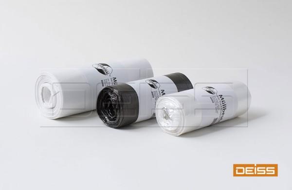 DEISS Abfallsack STANDARD 50l schwarz T60 (1 Rolle = 25 Stück)