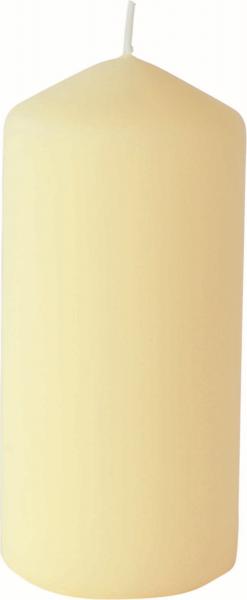 Duni Stumpenkerzen 150x70mm, matt cream  - 2x6 Stück