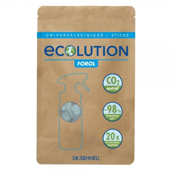 Dr. Schnell Ecolution Forol Universalreiniger-Sticks (1 Beutel = 20 Sticks)