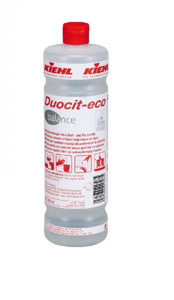Kiehl Duocit-eco balance Sanitärreiniger (Farb- u. Duftstofffrei) 1,0 ltr. Flasche
