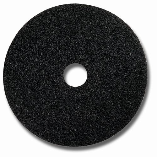 """Glit Floor Superpad - schwarz - Ø 16"""" = 406 mm"""