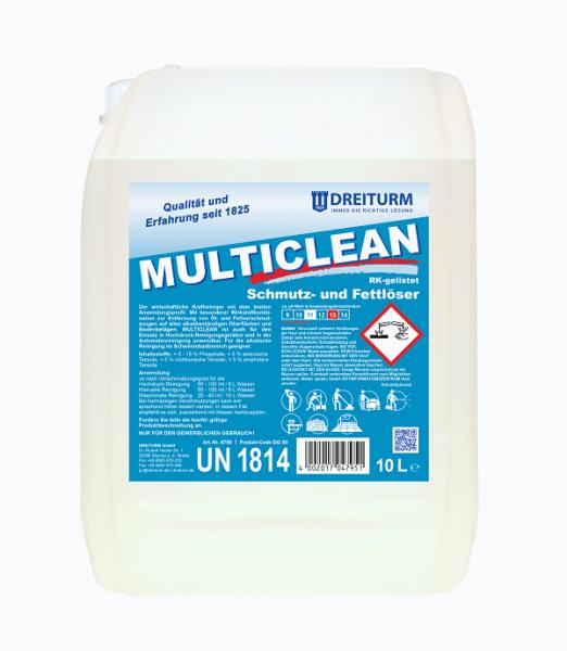 Dreiturm Kraftreiniger Multiclean 10L