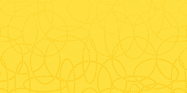 Duni Dunisilk+ Mitteldecke 84x84cm Circuits gelb - 100 Stück