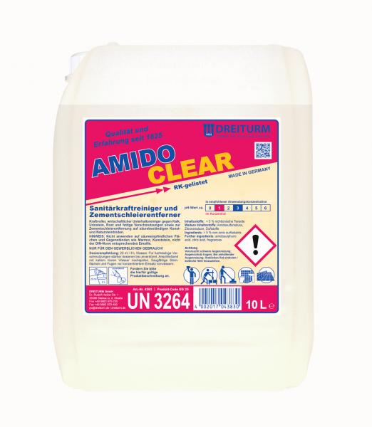 Dreiturm Sanitärunterhaltsreiniger Amidoclear 10L - 4383