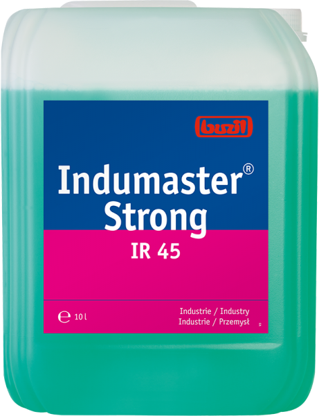 Buzil hochalkalischer Hochleistungs-Industriereiniger Indumaster® Strong IR45 - 10L Kanister