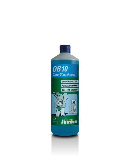 Cleanclub OB10 Citro-Glasreiniger 1LFlasche #12021