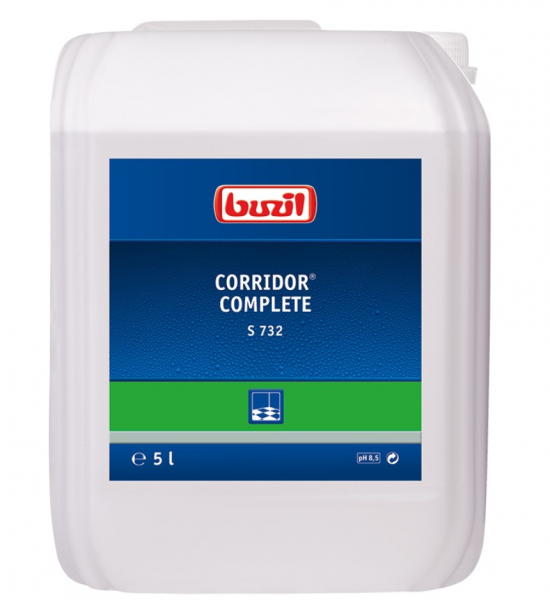 Buzil glänzende Mehrzweckemulsion Corridor® Complete 5 L Kanister S732