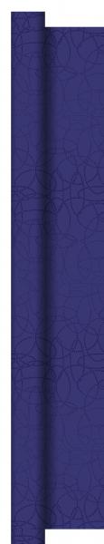Duni Dunisilk+ Tischdecke Rolle 25x1,20m Circuits dunkelblau - 2x1 Stück