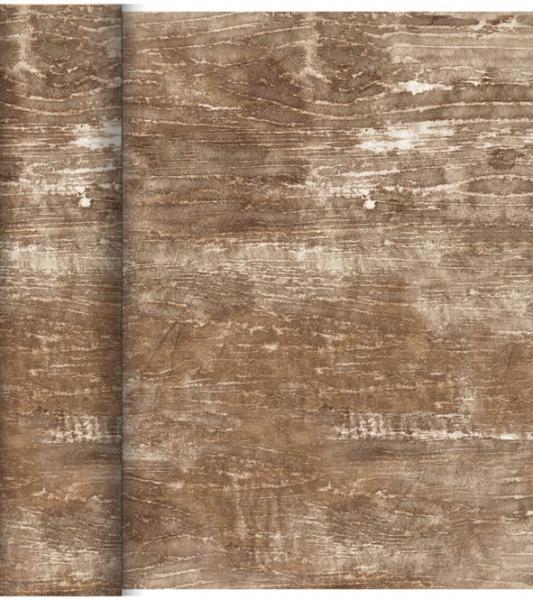 Duni DC Tête à Tête Tischläufer 0,4x24m Wood - 6x1 Stück