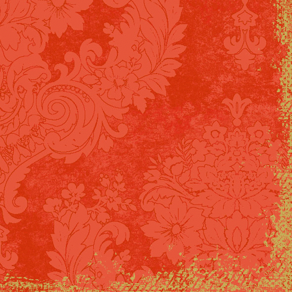 Duni Zelltuch Servietten 40x40 Klassik Royal mandarin  - 6x50 Stück