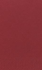 Duni Zelltuch Servietten 40x40 3lg 1/8 BF bordeaux - 4x250 Stück