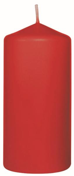 Duni Stumpenkerzen 100x50mm rot - 6x10 Stück