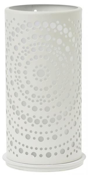 Duni Kerzenhalter Billy, 140x75mm, weiß - 4x1 Stück