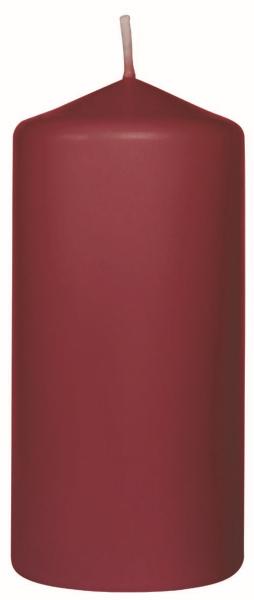 Duni Stumpenkerzen 100x50mm bordeaux - 6x10 Stück