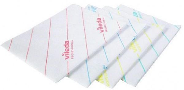 Vileda MicroOne 34 x 27 cm gelb Einweg Microfasertücher ( 1 Packung = 50 Stückung )
